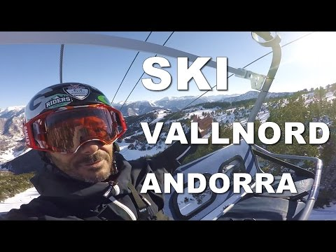 Back in Andorra, let's go skiing at Vallnord - CG VLOG #55