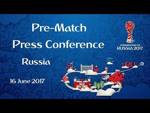 RUS v. NZL - Russia Pre-Match Press Conference