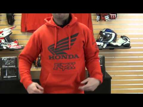 Fox Racing Honda Hoody Review