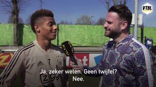 David Neres: 'Ajax wordt kampioen'