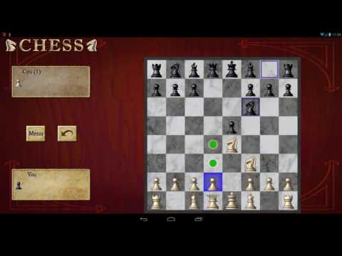 Chess Free Android Gameplay (Strategy)
