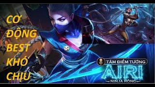 Airi thích khách phong cách bắt chủ lực, khiến Team bạn không kịp trở tay!