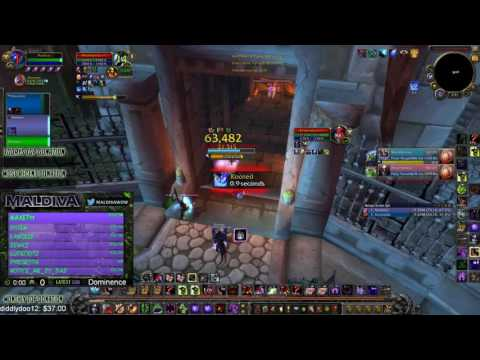 Maldiva - Healer Accidentally Enters Arena As DPS - WoW 7.1 Affliction Warlock PvP