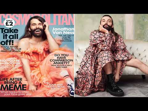 'Queer Eye' star Jonathan Van Ness first non-female to grace Cosmo cover since Boy George  - Fox New