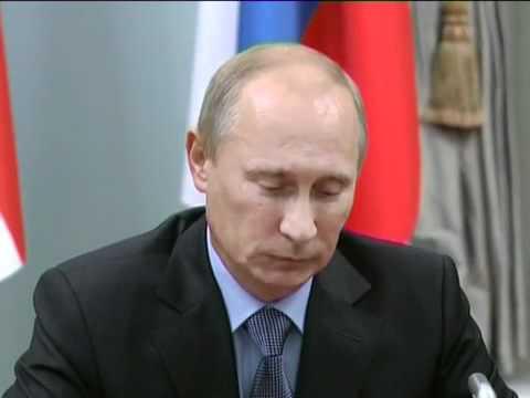 David Cameron faces down Vladimir Putin