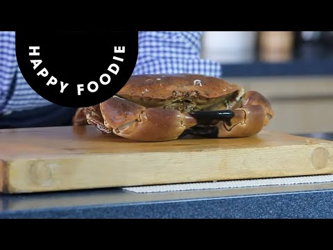 How To Cook And Dress Crab | Rick Stein