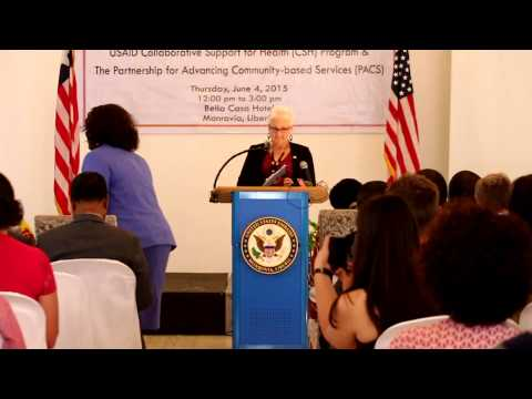 USAID Liberia New Health Activities 2015