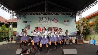 Video JKT48 - Team T @. Pensi SMAN 107 Calpico download MP3, 3GP, MP4, WEBM, AVI, FLV September 2018