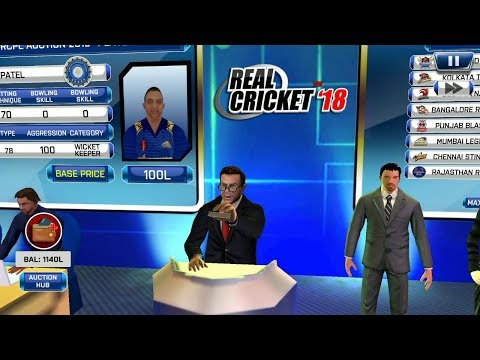 ( Part 2 ) A to Z Auction Gameplay Real Cricket 18 aNdroid / IOS Gameplay
