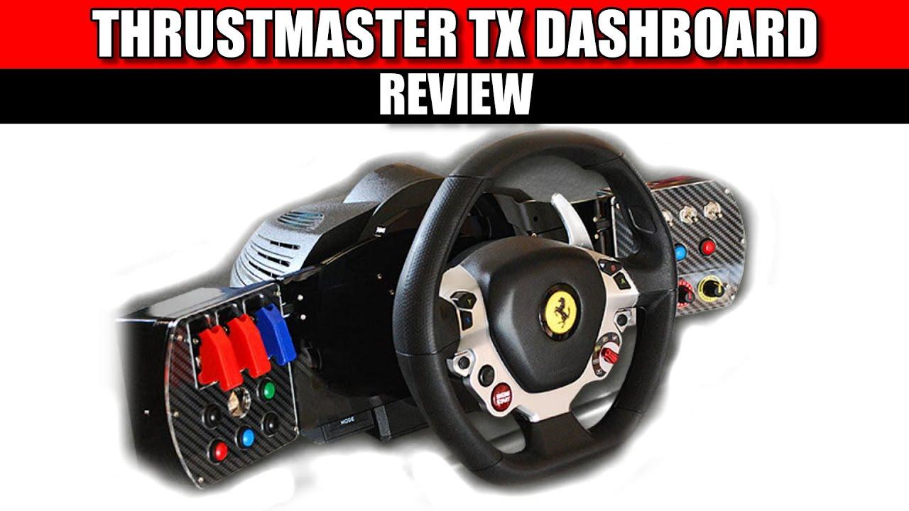 thrustmaster tx dashboard review simracing hardware. Black Bedroom Furniture Sets. Home Design Ideas