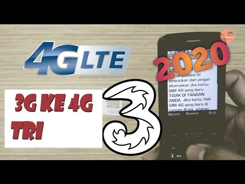 Cara Upgrade 3g Ke 4g Tri 3 Three Youtube