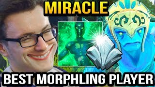 Miracle is Becoming BEST MORPHLING IN THE WORLD of Dota 2