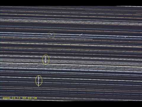 Geostationary satellites - 10-11 October 2009