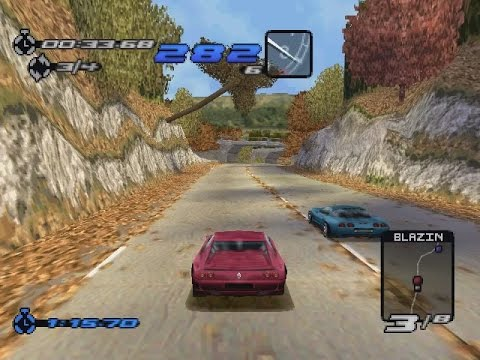 Need For Speed 3: Hot Pursuit (PS1) - Beginner Tournament