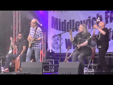 Ade Edmondson and The Bad Shepherds, I Fought the Law, Middlewich FAB Folk and Boat Festival  2014