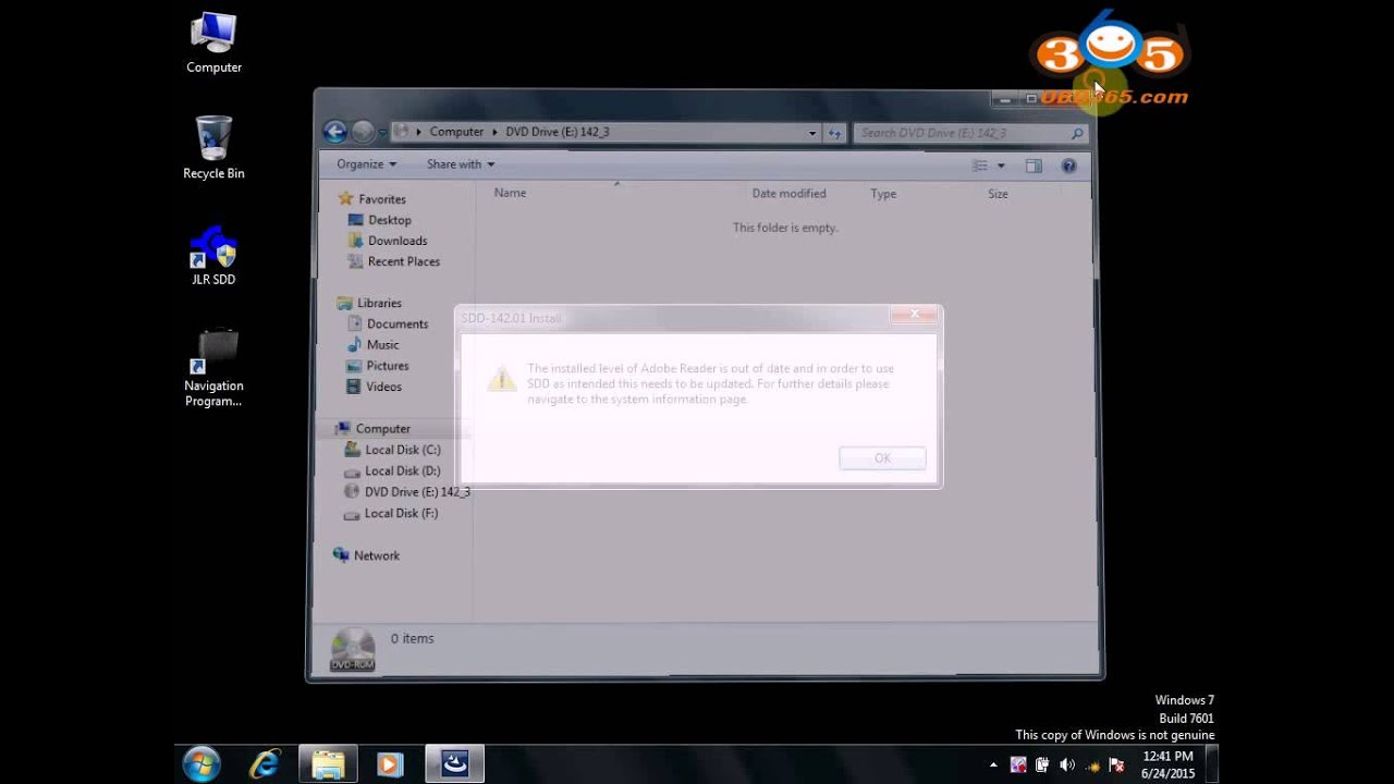 How to Install DA-J2534 JLR142 software