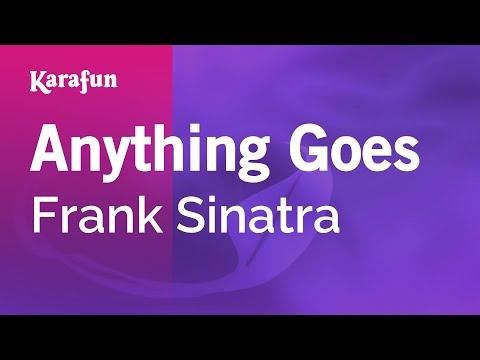Karaoke Anything Goes - Frank Sinatra *