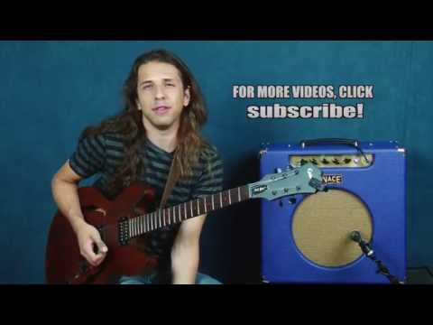 Jazz guitar soloing lesson augmented triad use improvisation leads 251 change jazzy chords