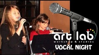 art lab vocal night beauty and the beast duet performed by evrikleia t nora m