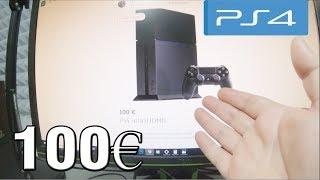 Compro Una Playstation 4 por 100€ 😱 ¿Me estafaron? ¿Funciona?