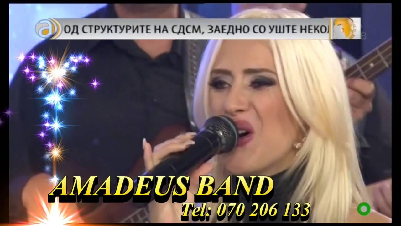Amadeus Band Kumanovo & Jessica Џесика Palashoska - MIX vo zivo na ALFA TV