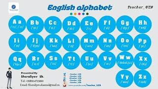 Скачать English Alphabet Ingliz Tili Alifbosi THe Best