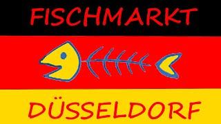 Fischmarkt in Düsseldorf. Воскресный Дюссельдорф. 28.08.2016