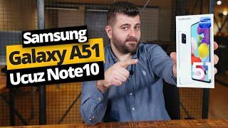 Samsung Galaxy A51 kutudan çıkıyor! 4 kameralı ucuz Note 10!
