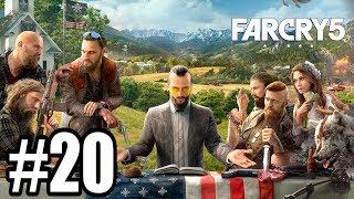 SPOTKANIE Z FAITH - Let's Play Far Cry 5 #20 [PS4]