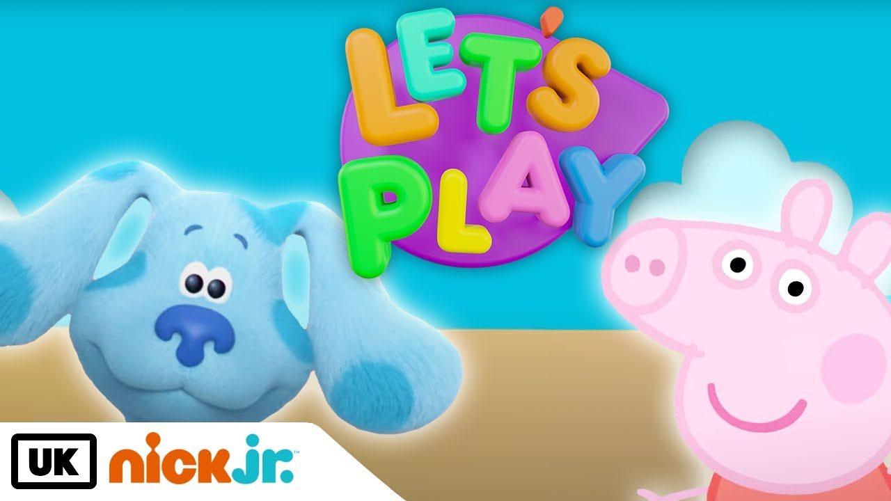 Solve and Seek w/ Blue and Peppa   Let's Play   Nick Jr. UK