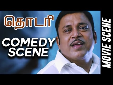 Thodari - Comedy Scene | Dhanush | Keerthy...