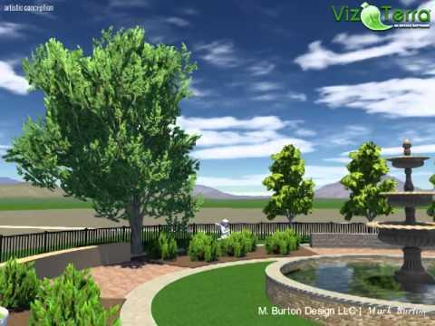 Vizterra 3d landscape design software youtube - 3d garten designer ...