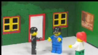 My lego Stop motion zombie movie