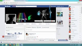 VIDEO HƯỚNG DẪN CÀI THEME + NHẠC FACEBOOK MỚI NHẤT