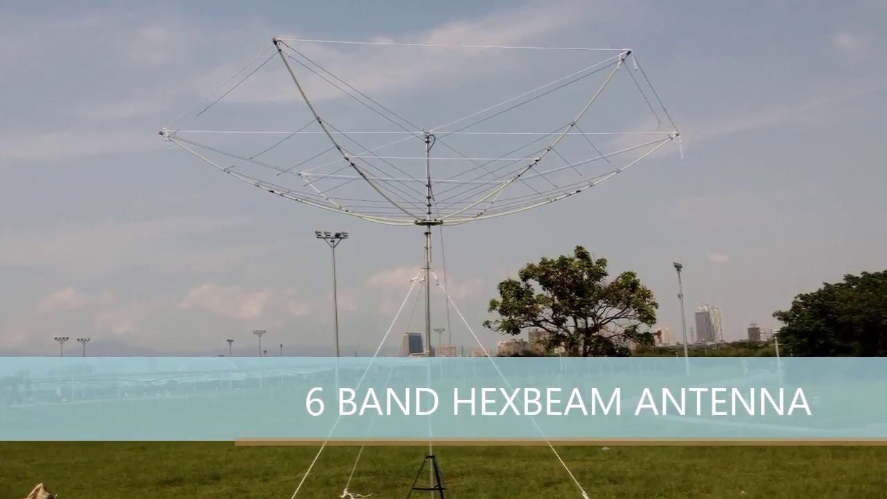 HEXBEAM ANTENNA 6BAND 14/18/21/24/28/50MHz DIY