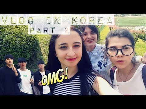 VLOG IN KOREA:KOREAN PEOPLE REACTION TO FOREIGNERS!!