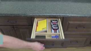 Medallion Cabinetry: Removable Wooden Drawer Organizers, Kitchen Storage Part 14