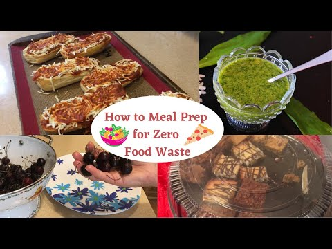 How to Meal Prep for Zero Food Waste Frugal Living