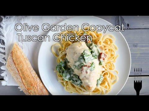 Olive Garden Copycat Tuscan Chicken