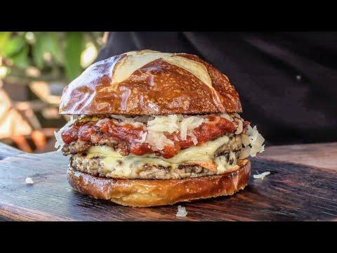Burger Meister Double Cheeseburger   Ballistic Mojoe Griddle
