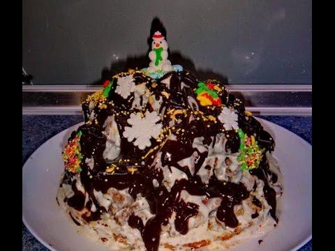 Торт Кучерявый Пинчер - пошаговый рецепт торта видео | #кучерявыйпинчер #edblack
