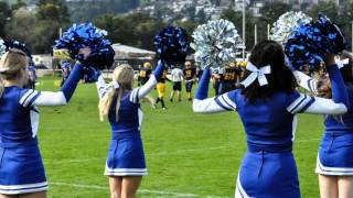 Breaking Dishes - Rihanna - Luzern Wildcats Eternity Football Cheer - Halftime Show #3