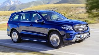 Mercedes-Benz GLS 350d 4matic x166. Design and driving scenes.