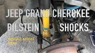 2011-2018 Jeep Grand Cherokee WK2 NEW Rear Shocks Bilstein