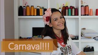 Faça você mesmo – Tiara de flores de tecido para Carnaval (Parte 2)