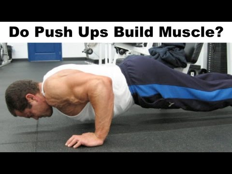 Can High Rep PUSH UPS Build Muscle? - YouTube