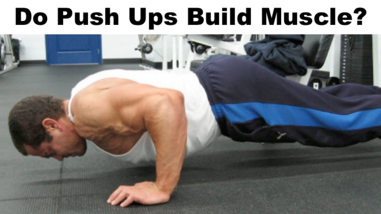 Can High Rep PUSH UPS Build Muscle?
