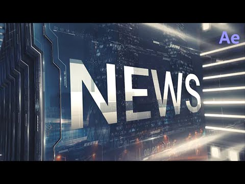 Broadcast News Intro ★ After Effects Template ★ AE Templates