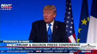 MUST WATCH: President Trump Addresses Donald Trump Jr's Interaction With Russian Lawyer (FNN)