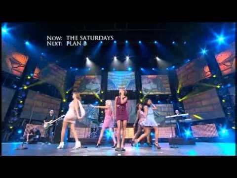 The Saturdays - Ego (A Concert For Heroes - 12th September 2010)